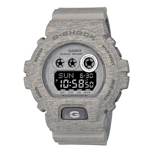 Часы Casio G-Shock Gd-x6900ht-8e Grey casio g shock gd 120cm 8e