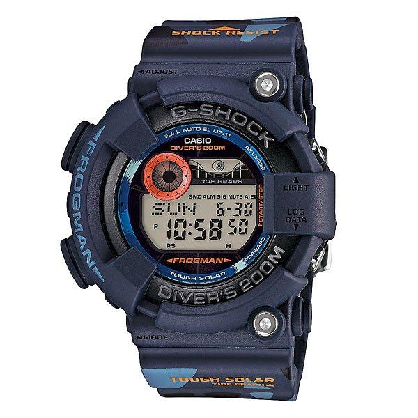 Часы Casio G-Shock Gf-8250cm-2e BlueХарактеристики: Автоматическая электролюминесцентная подсветка всего циферблата, активируется при повороте часов.Светодиодная индикация при сигнале будильника, окончании отсчёта таймера или секундомера.Функция мирового времени.Два формата отображения времени: 12-часовой и 24-часовой.Секундомер с точностью измерения 1/100 сек., длительностью до 24 часов.Стандартный будильник с функцией автоповтора (5 установок). Включение/выключение звука кнопок.  Таймер обратного отсчёта, до 24 часов. Опция автоповтора.Автоматический календарь. Сигнал для оповещении об окончании каждого часа.Прочное, устойчивое к царапинам минеральное стекло защищает часы от повреждений.Корпус из полимерного пластика и нержавеющей стали. Ремешок из полимерного материала. Водонепроницаемость (20 Бар/200 м). Графическое отображение сведений о приливах и отливах. Функция сохранения энергии. Таймер аквалангиста - запись в память времени начала погружения, даты и общего времени погружения. Работоспособность в полной темноте до 10 месяцев в обычном режиме и до 27 месяцев в режиме сохранения энергии. Работа от солнечной батареи.<br><br>Цвет: синий<br>Тип: Электронные часы<br>Возраст: Взрослый<br>Пол: Мужской