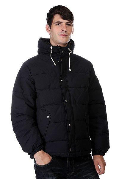 Куртка зимняя Quiksilver Belmore AnthraciteТеплая куртка-пуховик отлично согреет в морозную погоду!  Данная модель выполнена из синтетического пуха. Остальные преимущества:    Стандартный крой.  Металлические клепки.  Обработка воском и водостойкая пропитка.  Кожаная отделка.  Контрастная подкладка.<br><br>Цвет: черный<br>Тип: Куртка зимняя<br>Возраст: Взрослый<br>Пол: Мужской