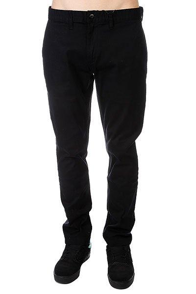 Штаны прямые DC Wrk Chno Black<br><br>Цвет: черный<br>Тип: Штаны прямые<br>Возраст: Взрослый<br>Пол: Мужской