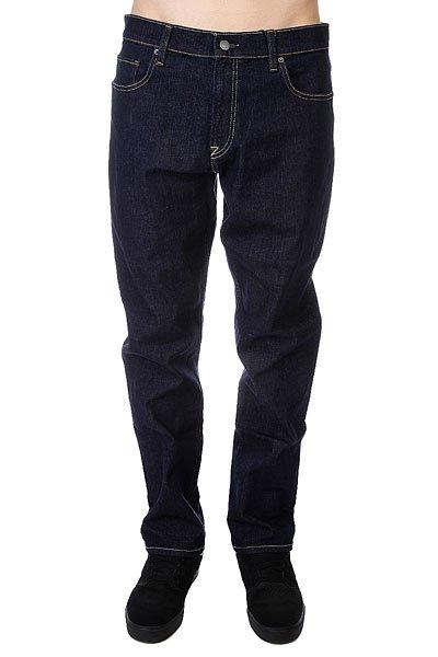 Джинсы широкие DC Worker Indigo RinseЭти джинсы отлично сочетают комфорт и качество!  Материал - деним синего цвета плотностью 340 г/кв. м:   Cвободный крой.  Застегиваются на пуговицы.  Металлические заклепки.  Перфорированная кожаная нашивка на поясе сзади.  Логотип DC на заднем кармане.  Кокетка &amp;laquo;наоборот&amp;raquo; сзади.  Декоративная строчка на коленях.<br><br>Цвет: синий<br>Тип: Джинсы широкие<br>Возраст: Взрослый<br>Пол: Мужской