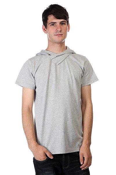 Футболка CLWR Hood Grey Melange<br><br>Цвет: серый<br>Тип: Футболка<br>Возраст: Взрослый<br>Пол: Мужской