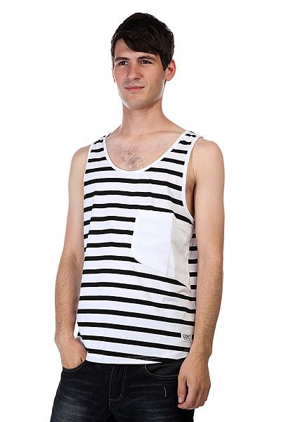 ����� CLWR Cut Tank Black Stripe