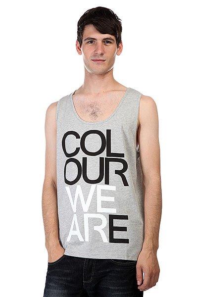 Майка CLWR We Are Tank Grey Melange<br><br>Цвет: серый<br>Тип: Майка<br>Возраст: Взрослый<br>Пол: Мужской