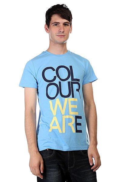 Футболка CLWR We Are Pale Blue Melange<br><br>Цвет: голубой<br>Тип: Футболка<br>Возраст: Взрослый<br>Пол: Мужской