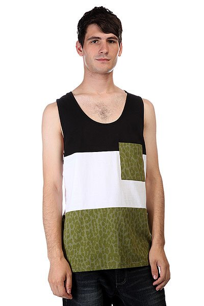 Майка CLWR Pouch Tank Loden Leo Melange футболка clwr plain loden leo