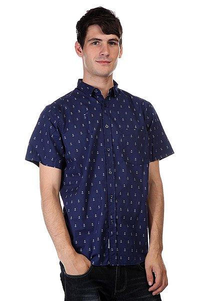Рубашка CLWR Anchor Shirt Patriot<br><br>Цвет: синий<br>Тип: Рубашка<br>Возраст: Взрослый<br>Пол: Мужской