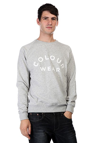 Толстовка CLWR Colour Crew Grey Melange