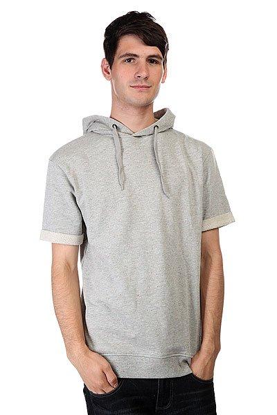 Толстовка CLWR Hood Grey Melange<br><br>Цвет: серый<br>Тип: Толстовка классическая<br>Возраст: Взрослый<br>Пол: Мужской