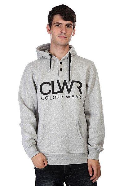 Кенгуру CLWR Kenguhood Grey Melange<br><br>Цвет: серый<br>Тип: Толстовка кенгуру<br>Возраст: Взрослый<br>Пол: Мужской