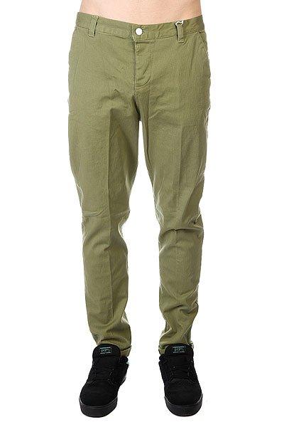 Штаны прямые CLWR Chino Loden<br><br>Цвет: зеленый<br>Тип: Штаны прямые<br>Возраст: Взрослый<br>Пол: Мужской