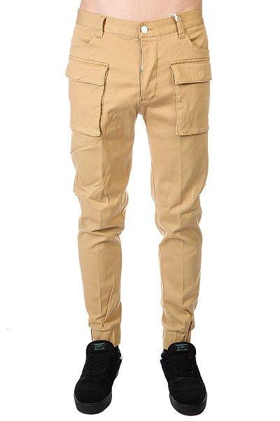 Штаны прямые CLWR Cuff Chino Camel<br><br>Цвет: бежевый<br>Тип: Штаны прямые<br>Возраст: Взрослый<br>Пол: Мужской
