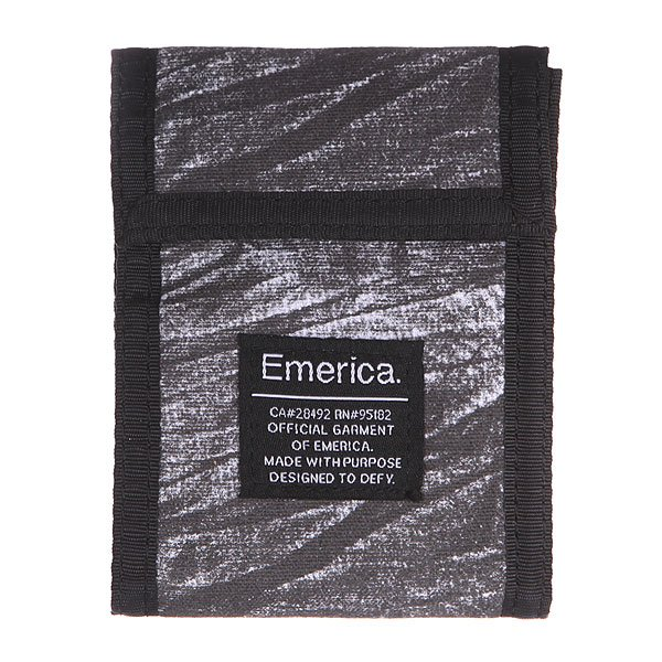 Кошелек Emerica Tach Grey<br><br>Цвет: черный,серый<br>Тип: Кошелек<br>Возраст: Взрослый
