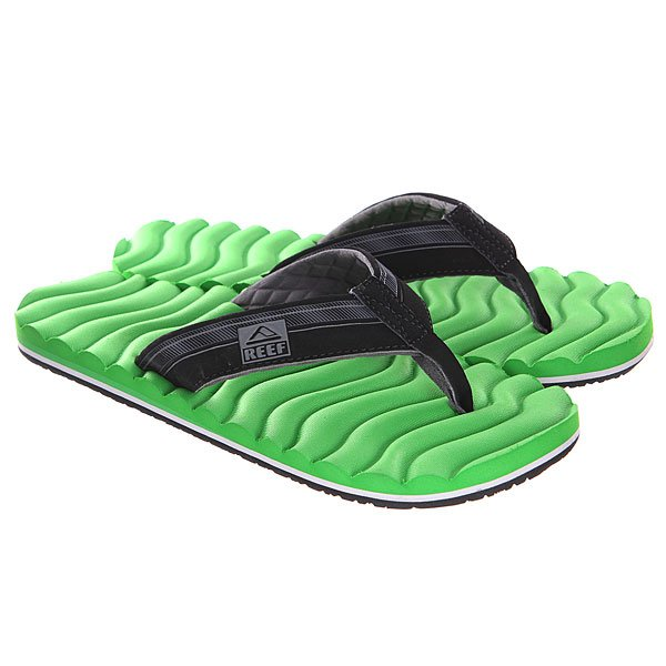 Вьетнамки Reef Swellular Green/Black