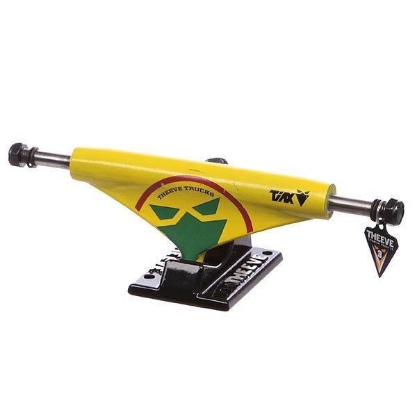 Подвеска для скейтборда 1шт. Theeve Tiax Jamin Black/Yellow 5.25 (20.3 см)