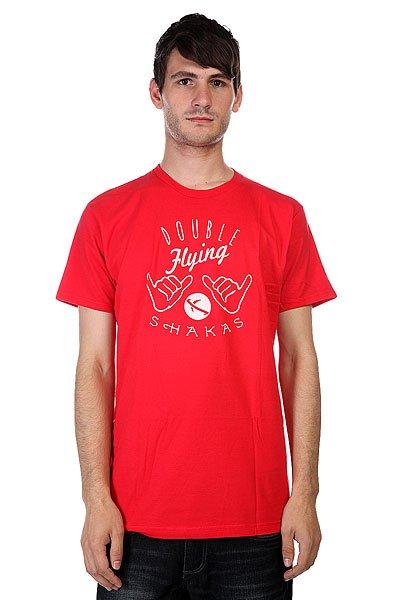 Футболка Lost Shakas Flying Red<br><br>Цвет: красный<br>Тип: Футболка<br>Возраст: Взрослый<br>Пол: Мужской