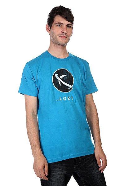 Футболка Lost Orbis Trq<br><br>Цвет: голубой<br>Тип: Футболка<br>Возраст: Взрослый<br>Пол: Мужской