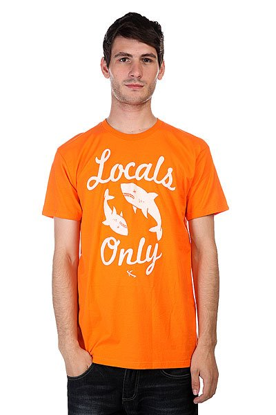 Футболка Lost Locals Only Orange
