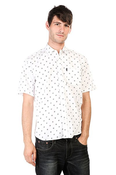 Рубашка Huf Circle Woven White