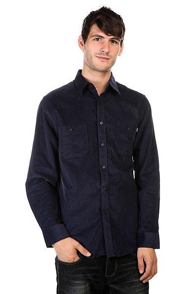 Рубашка Huf Alaster Cord Woven Navy<br><br>Цвет: синий<br>Тип: Рубашка<br>Возраст: Взрослый<br>Пол: Мужской