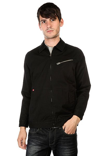 Куртка Huf Halsted Jacket Black<br><br>Цвет: черный<br>Тип: Куртка<br>Возраст: Взрослый<br>Пол: Мужской