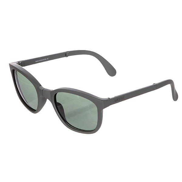 Очки Sunpocket Tonga Dark SeaweedМодель, вдохновленная стилем побережья Южной Африки. Модель очков подойдет к любому стилю и гардеробу.Характеристики:Фирменный логотип на дужке.Материал: гриламид. UVA/UVB фильтры для защиты от вредных излучений. Чехол для хранения в комплекте.<br><br>Цвет: серый<br>Тип: Очки<br>Возраст: Взрослый<br>Пол: Мужской