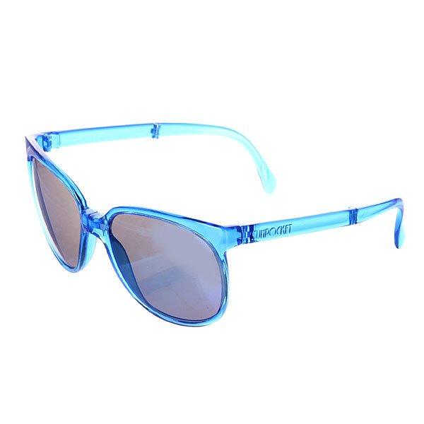 Очки Sunpocket Sport Crystal SapphireОчки очень компактно складываются, в комплекте есть чехол для хранения! Классическая расцветка, идеальное качество - именно такими и должны быть хорошие солнечные очки.Характеристики:Фирменный логотип на дужке.Материал: гриламид. UVA/UVB фильтры для защиты от вредных излучений. Чехол для хранения в комплекте.<br><br>Цвет: синий<br>Тип: Очки<br>Возраст: Взрослый<br>Пол: Мужской