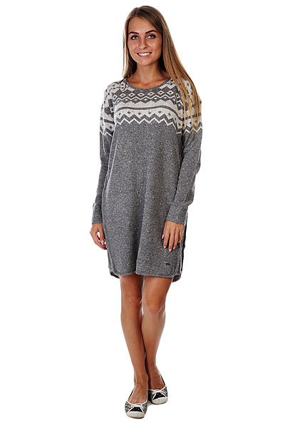 Платье женское Roxy Sol Mate Charcoal Heather