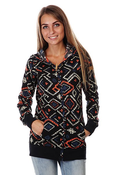 Толстовка женская Roxy Resin Knit Kilim