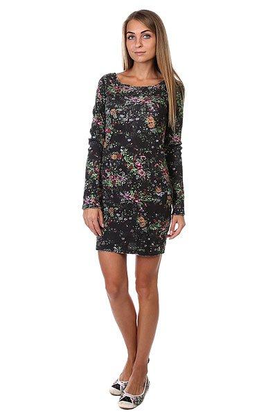 Платье женское Insight Flower Power Dress Floral<br><br>Цвет: черный<br>Тип: Платье<br>Возраст: Взрослый<br>Пол: Женский