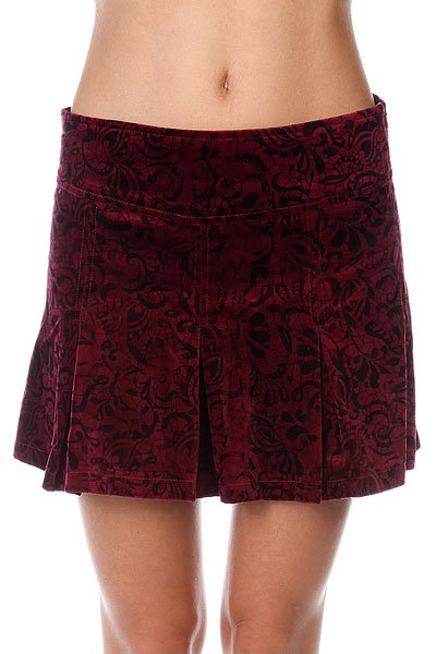 цена Юбка женская Insight Sweet Jane Skirt Burgundy онлайн в 2017 году