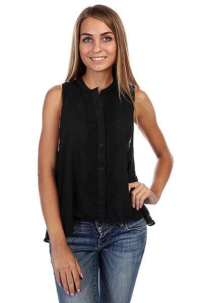 Блузка женская Insight Coterie Shirt Floyd Black<br><br>Цвет: черный<br>Тип: Блузка<br>Возраст: Взрослый<br>Пол: Женский