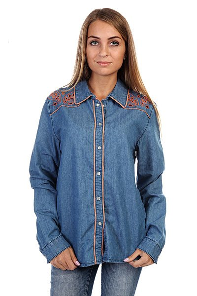 Рубашка женская Insight Napier Shirt 70 S Mid Blue