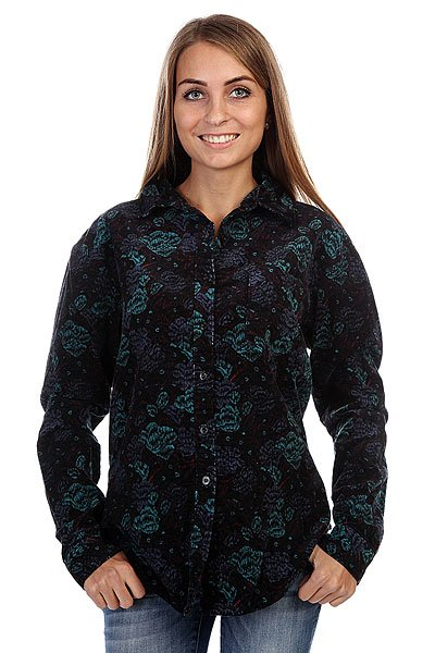 Рубашка женская Insight Floral Supply Shirt Ocean