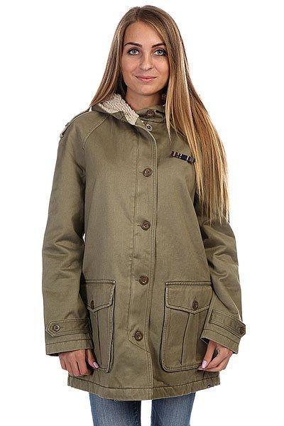 Куртка парка женская Insight Hot Fuzz Jacket Acid GreenКуртка отлично подойдет для любого случая жизни, разнообразит Ваш образ, согреет и не даст Вам промокнуть в прохладные дни. Длинные полы куртки Insight Hot Fuzz  и классический покрой отлично сочетаются с капюшоном.Технические характеристики: Подкладка - искусственный мех.Фиксированный капюшон с утеплением.Накладные карманы для рук на пуговицах.Декоративные элементы на рукавах.Застежка - пуговицы.Фасон - стандартный (regular fit).<br><br>Цвет: зеленый<br>Тип: Куртка парка<br>Возраст: Взрослый<br>Пол: Женский