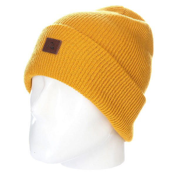 Шапка Quiksilver The Beanie Golden Spice