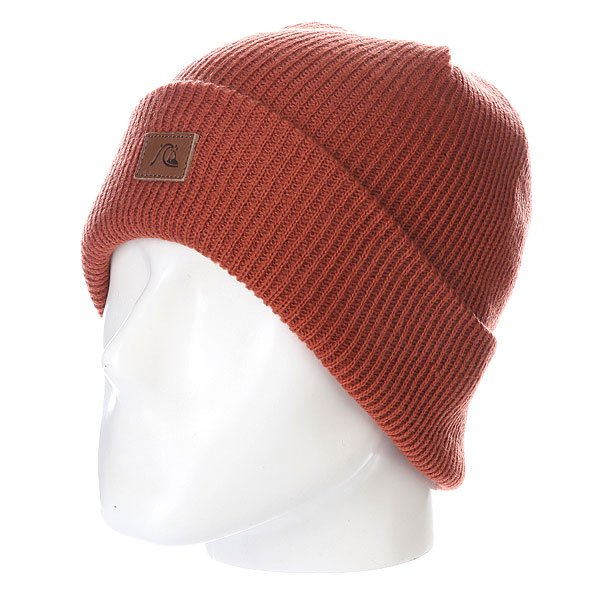 Шапка Quiksilver The Beanie Baked Clay