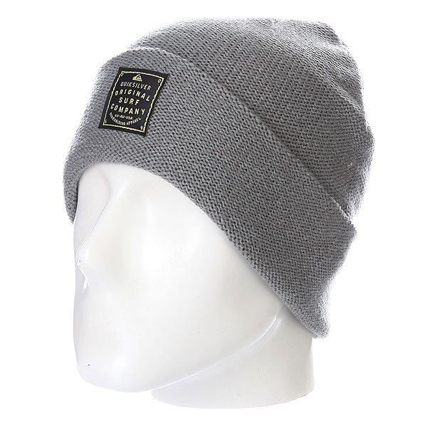 Шапка Quiksilver Toaster Beanie Steeple Gray