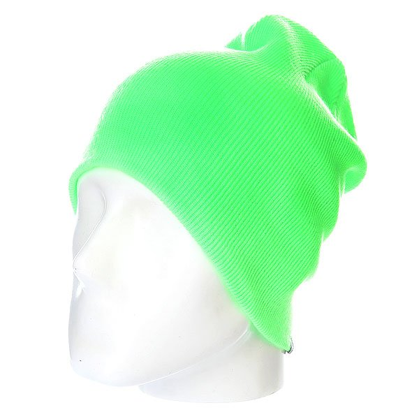 Шапка носок Quiksilver Jewell Slouch Neon Green