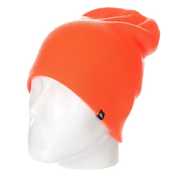 Шапка носок Quiksilver Jewell Slouch Neon Orange