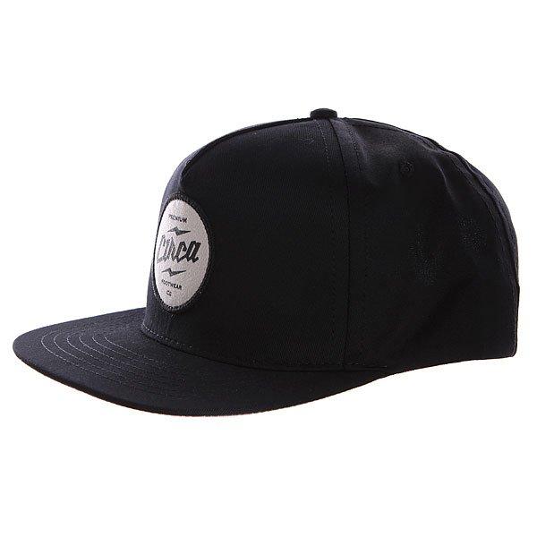 ��������� � ������ ��������� Circa Holten Snap Back Black