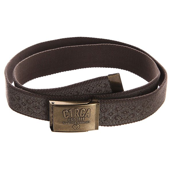 Ремень Circa Printed True Belt Chocolate