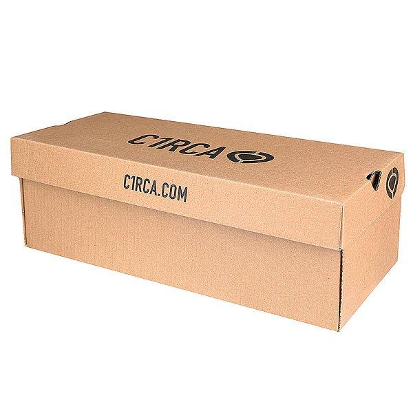 Кеды кроссовки низкие Circa Crip Grww Gray Washed/White