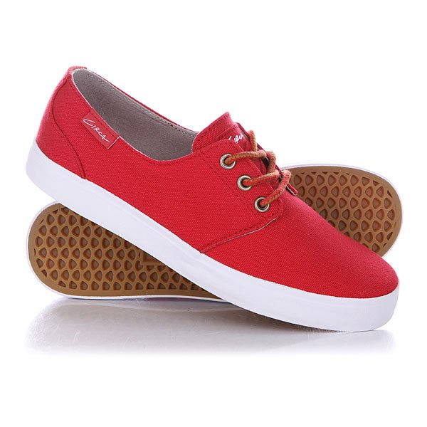 Кеды кроссовки низкие Circa Crip Prwh Pompeian Red/White