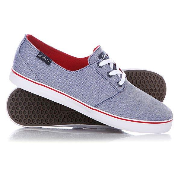 Кеды кроссовки низкие Circa Crip Blre Blue/Red