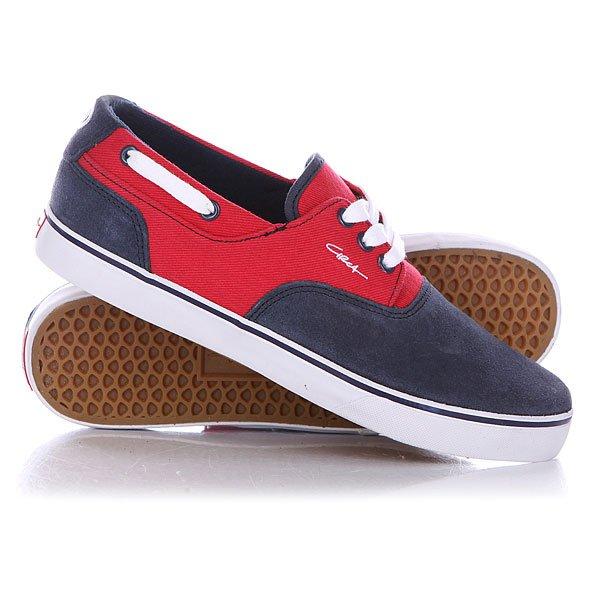 Кеды кроссовки низкие Circa Valeo Blrt Blue/Red Twill<br><br>Цвет: красный,синий<br>Тип: Кеды низкие<br>Возраст: Взрослый<br>Пол: Мужской