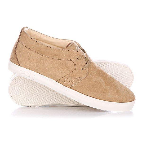 Кеды кроссовки высокие Circa Emor Tau Taupe<br><br>Цвет: коричневый<br>Тип: Кеды высокие<br>Возраст: Взрослый<br>Пол: Мужской