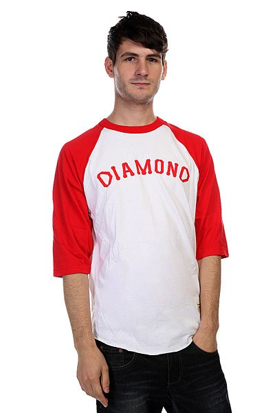 �������� Diamond Dugout 98 Raglan White/Red