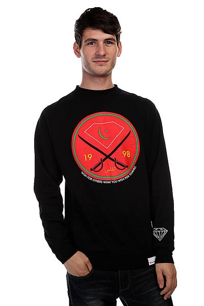 Толстовка Diamond Victory Swords Crew Black
