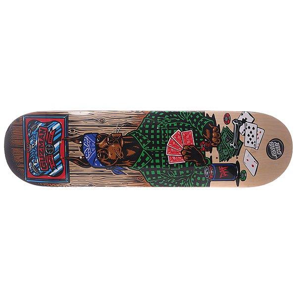 7e24faad4b2856 Дека для скейтборда для скейтборда Santa Cruz Guzman Poker Dog Multi 31.9 x  8.2 (20.8